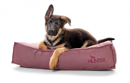 Hunter Hundebett Lancaster 60 x 40 cm, rot