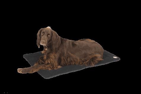 Pet-Joy Products Doggy Wool Blanket Black - X.X.Large 118 x 75