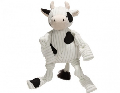 HuggleHounds Barnyard Knotties, Cow klein 23 x 10 x 10