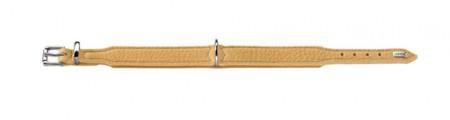 Hunter Halsband Vanilla Gr. 65, 51, 0 - 58, 5 cm Rind-Sämisch-Leder vanille/Nappa vanille