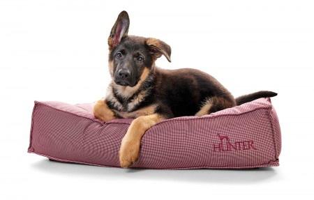 Hunter Hundebett Lancaster 100 x 70 cm, rot