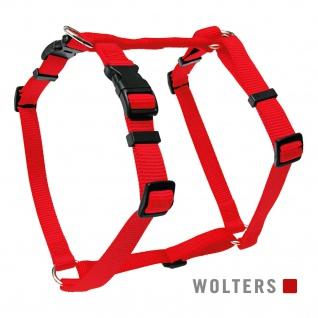 Wolters Geschirr Basic Gr.L 50-75cm rot