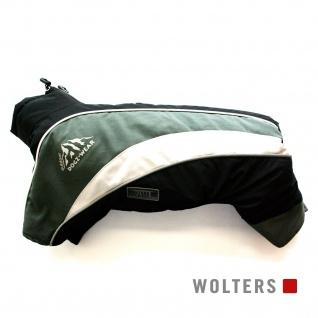 Wolters Skianzug Dogz Wear mit wasserdichtem RV 36cm schwarz/grau