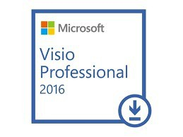 MICROSOFT Visio 2016 Professional- 1PC - 32&64 Bit - Vollversion - Express Email