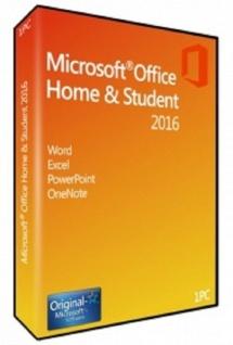 Microsoft Office 2016 Home & Student- 1PC - 32&64 Bit - Vollversion - Email Express Versand - - Vorschau