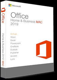 Microsoft Office 2019 Home & Business für 1 MAC - Vollversion - Email Express Versand - NEU - TOP