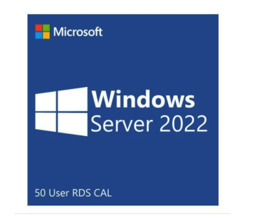 Microsoft Windows Server 2022 50 User RDS Cal