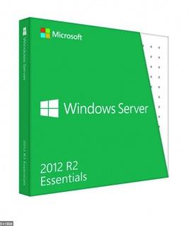 Windows Server 2012 R2 Essentials - Vollversion - Express Email Versand - MS Partner