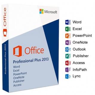 MICROSOFT Office 2013 Professional Plus - 1PC - 32&64 Bit - Vollversion - Email Versand - - Vorschau 2