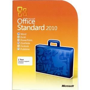 Microsoft Office 2010 Standard - 1PC - 32&64 Bit - Vollversion - Email Versand -