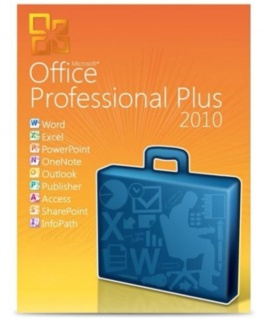 MICROSOFT Office 2010 Professional Plus- 1PC - 32&64 Bit - Vollversion - Email Versand