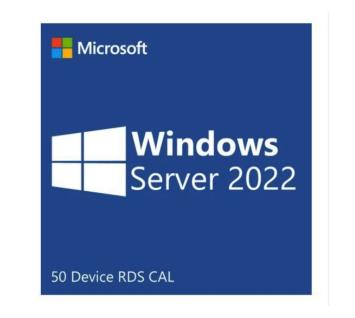 Microsoft Windows Server 2022 -50 Device RDS CAL