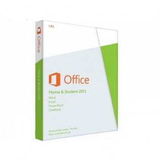 Microsoft Office 2013 Home and Student - 1PC - 32&64 Bit - Vollversion - Email Versand - - Vorschau