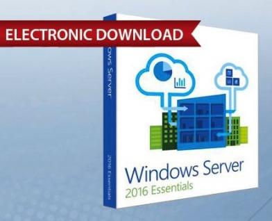 Windows Server 2016 Essentials - Vollversion - Express Email Versand - MS Partner