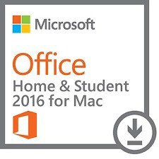 MICROSOFT OFFICE 2016 Home and Student-1 MAC - Vollversion - Email Express Versand -