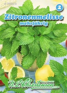 Zitronenmelisse mehrjährig N. L. Chrestensen Samen Saatgut Kräuter