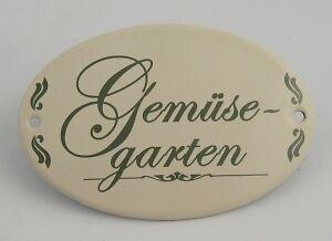 Gartendekoration Schild Gemüsegarten zum Hängen
