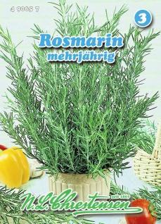 Rosmarin mehrjährig N. L. Chrestensen Samen Saatgut Kräuter