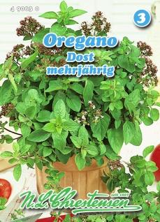 Oregano Dost mehrjährig N. L. Chrestensen Samen Saatgut Kräuter