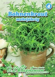 Bohnenkraut mehrjährig N. L. Chrestensen Samen Saatgut Kräuter