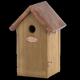 Nistkasten Vogelhaus Holz Winter Kupfer Kohlmeise, Blaumeise, Sperling, Spatz