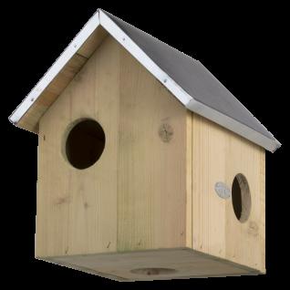 Eichhörnchen Haus Kobel Holz Nistkasten Zink Dach Winter Quartier Schutz