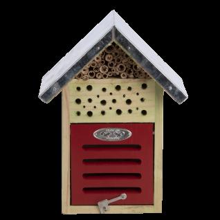 Insektenhotel Größe S Holz Bienen Schmetterlinge Marienkäfer Florfliegen
