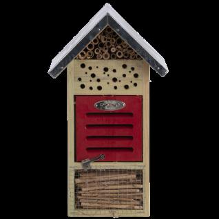 Insektenhotel Größe M Holz Bienen Schmetterlinge Marienkäfer Florfliegen