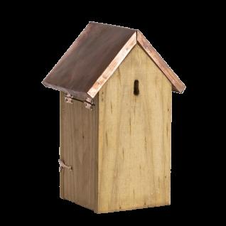 Nistkasten Vogelhaus Holz Winter Kupfer Kohlmeise, Blaumeise, Sperling, Spatz - Vorschau 2