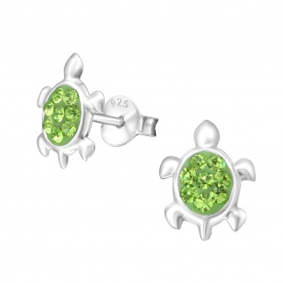 Schildkröte Ohrringe aus 925 Silber
