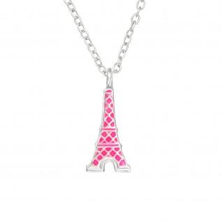 Eiffelturm Halskette aus 925 Silber