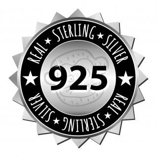 Schwarze Katzen Ohrringe aus 925 Silber - Vorschau 3