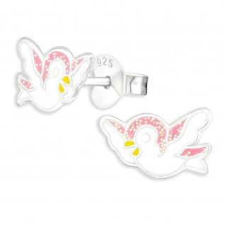 Tauben Kinder Ohrringe aus 925 Silber