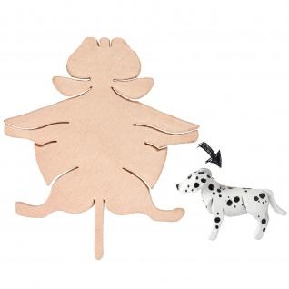 Dalmatiner Figur aus Leder zum Selbermachen