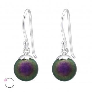 Swarovski Perlen Ohrringe aus 925 Silber