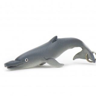 Delfin Schl?sselanh?nger aus Leder