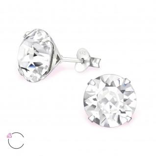 Swarovski Kristall Ohrringe aus 925 Silber