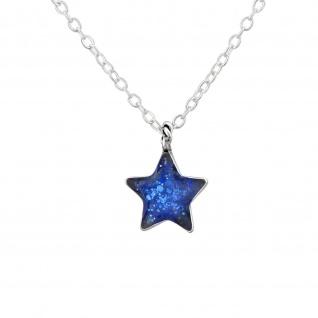 Stern Halskette aus 925 Silber