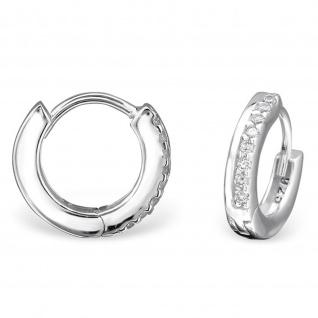 Creolen Ohrringe aus 925 Silber