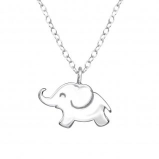 Baby Elefanten Halskette aus 925 Silber