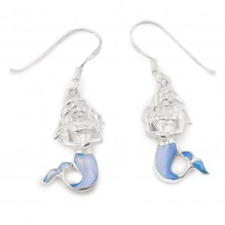 Meerjungfrau Ohrringe aus 925 Silber