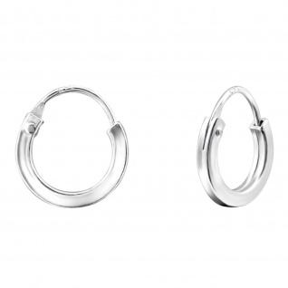 Kid Creolen Kinder-Ohrringe aus 925 Silber