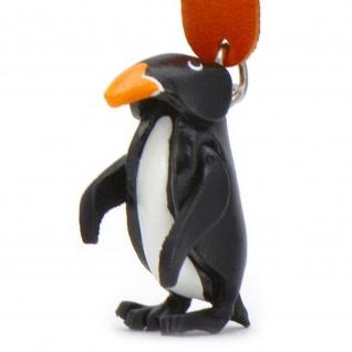 Pinguin Schl?sselanh?nger aus Leder