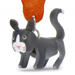 Bombay Katzen Schl?sselanh?nger aus Leder