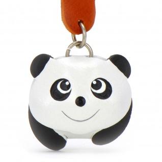 Panda Schl?sselanh?nger aus Leder