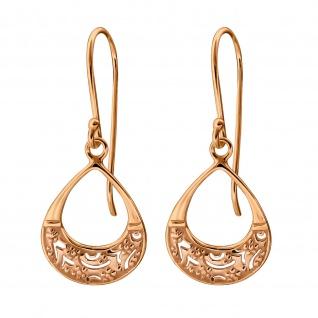 filigrane Ohrringe aus 925 Silber