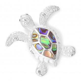 Schildkröte Anhänger aus 925 Silber