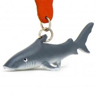 Hai Schlüsselanhänger aus Leder