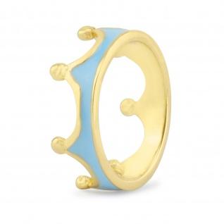 Kronen Ring vergoldet