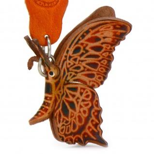 Schmetterling Schl?sselanh?nger aus Leder